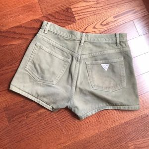 Guess Jeans Green Shorts 28